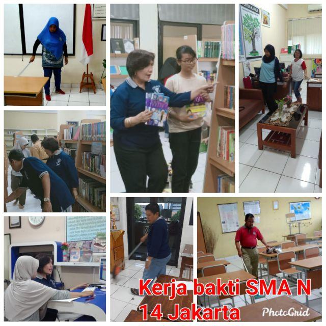 Kerja Bakti SMAN 14 Jakarta